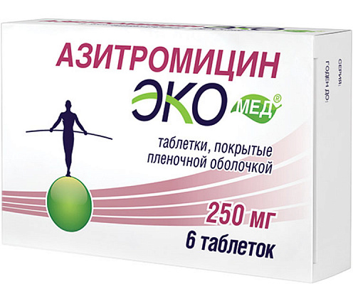 Azithromycin Ecomed® tablets 250 mg