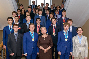 Kirov student met with the Minister of Education of the Russian Federation